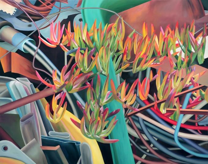 Watter Lillies Now , 2020. Al., dr., 150×200 cm